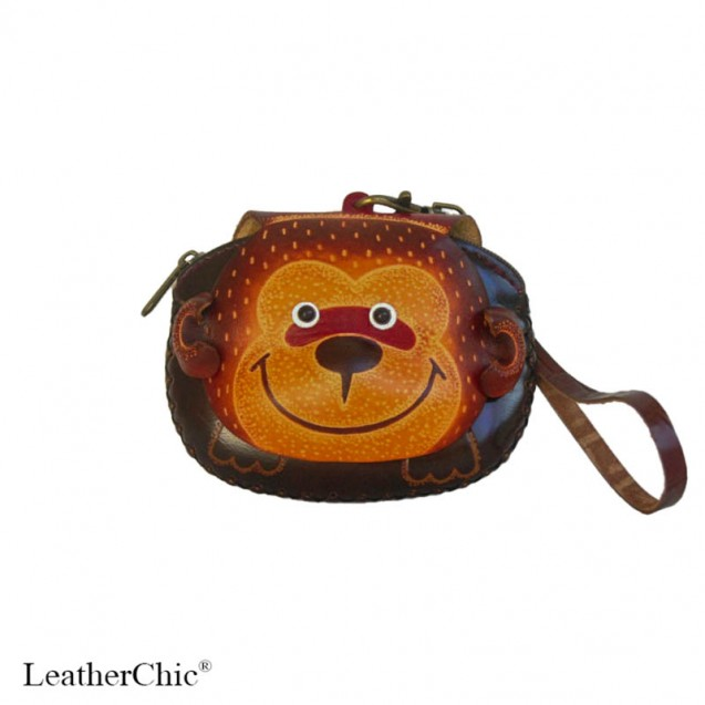Large Size Animal Purse AP 309.1 Monkey