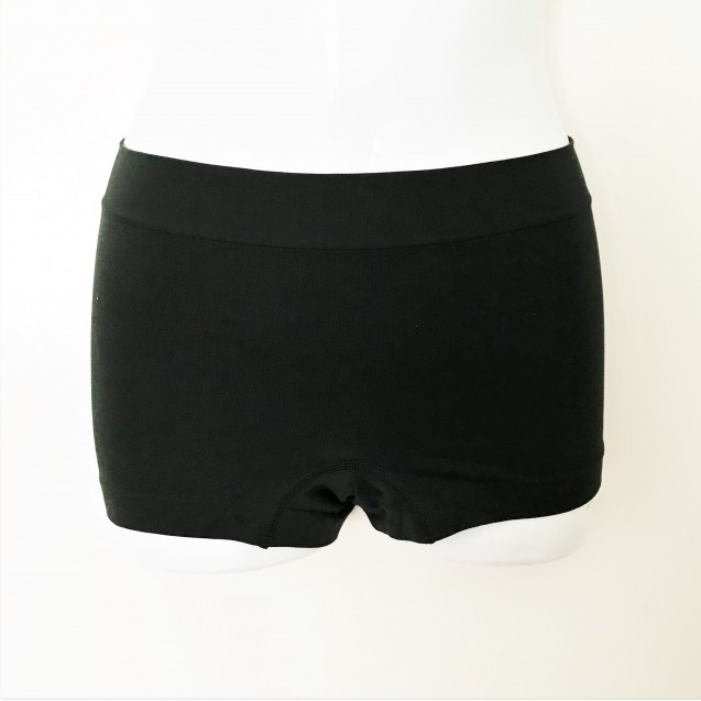 Pack of 6 Seamless Boyshorts (2 Black, 2 Nude, 2 Purple)
