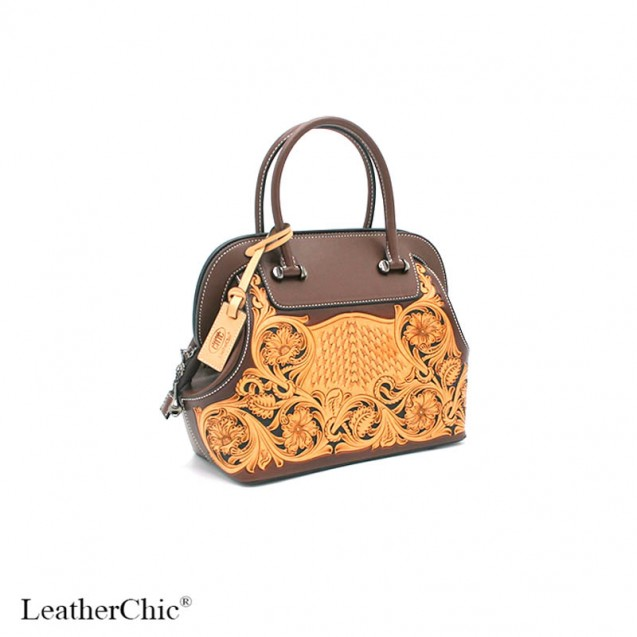 Hand Carved Large Size Handbag  HB 802